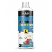 VPLAB L-Carnitine Concentrate 500 ml Cherry-Blueberry NEW