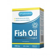 VP LAB Omega 3 Fish Oil (60 kaps.) - 30 porcijų.