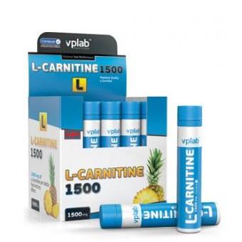 VPLAB L-Carnitine 1500 AMPOULE 1x25 ml Pineapple